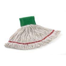Rubbermaid® FGA11206WH00 White Web Foot Medium Mop Head - 6 / CS