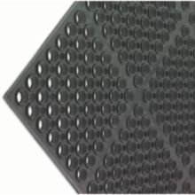 San Jamar® KM2100B Tuf-Mat 3' x 5' Black Medium Duty Mat