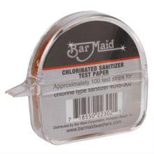 Bar Maid DIS-302 Chlorinated Sanitizer Test Strip Dispenser - 12 / CS