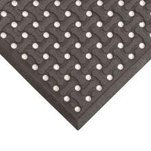 Notrax T18U0046BL Black 4' x 6' Superflow® Floor Mat