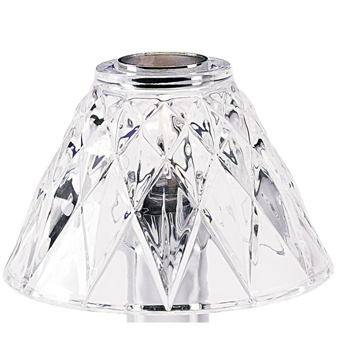 Sterno Products® 85442 Adeline Diamond Cut Lamp Shade