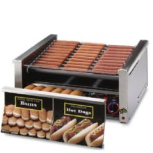 Star® 30SCBD Grill-Max® Analog Roller Grill with Bun Drawer