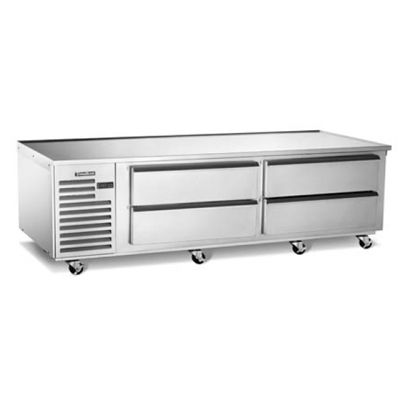 "Traulsen TE072HT 4-Drawer 72"" Refrigerated Equipment Stand"