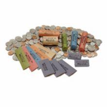 Block & Co. 1160100D16 Orange Flat Quarter Wrappers - 1000 / BX