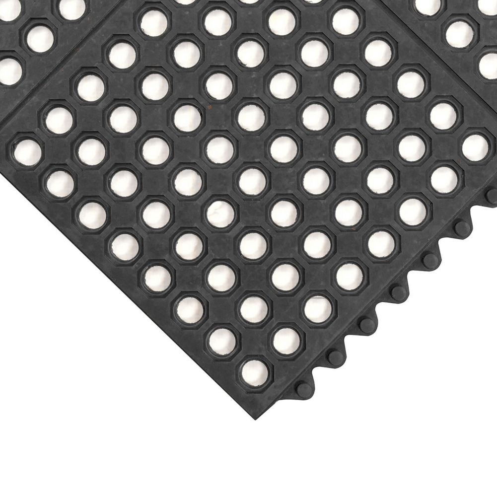Notrax 993-437 Black 3' x 3' Ultra Mat® Floor Mat