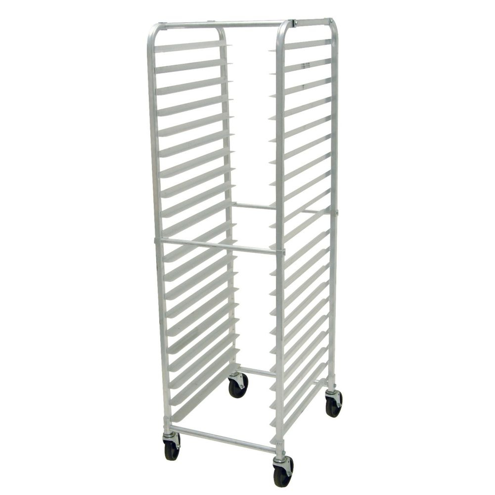 Advance Tabco PR20-3K-X Aluminum 20 Pan Capacity Mobile Pan Rack