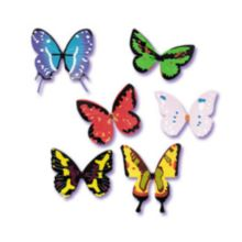 Bakery Crafts® Assorted Butterfly Toppers