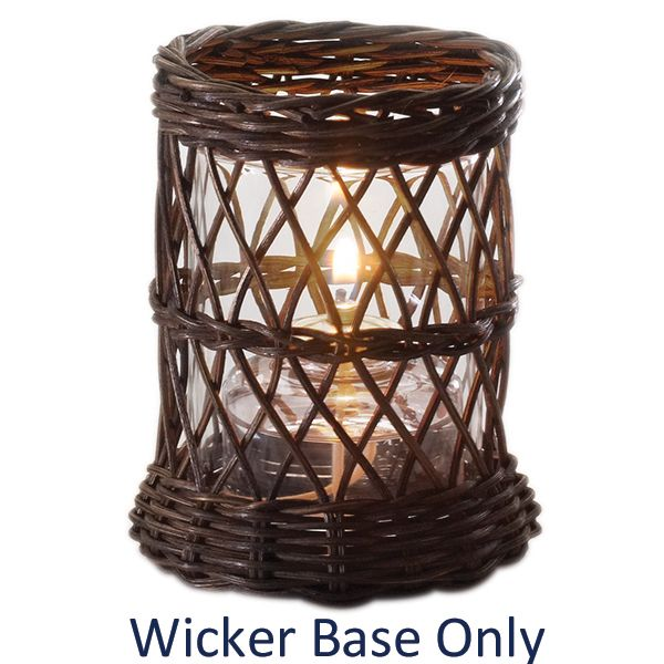 Sterno Products® 85238 Wicker Weave Lamp Base