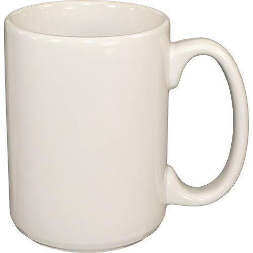 International Tableware 81015-01 American White 13.5 Oz Mug - 36 / CS
