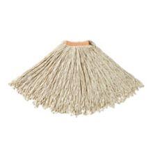 Rubbermaid FGF11800WH00 Premium White Cotton 24 oz Cut-End Mop Head