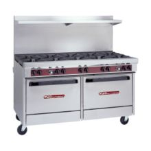 Southbend 4601DD Ultimate Natural Gas 10-Burner Range with Griddle
