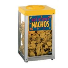 "Star® 15NCPW Countertop 15"" Nacho Chip / Popcorn Merchandiser"