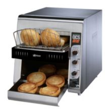 "Star® QCS2-600H Analog 3"" Opening Bun Conveyor Toaster"