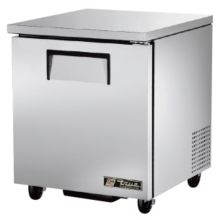 True TUC-27 S/S 6.5 Cu Ft Undercounter Refrigerator With 2 Shelves