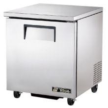 True® TUC-27F Solid Door 2-Shelf 6.5 Cu Ft Undercounter Freezer