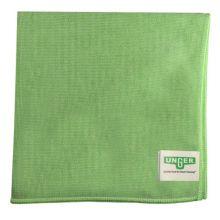 Unger® MC400 MicroWipe™ Light Duty Green Microfiber Cloth