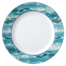 "Vertex® China RB-20-OA Rubicon Oasis 11.13"" Plate - 12 / CS"