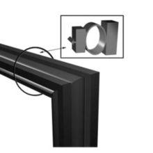 True® 810809 Door Gasket For TSSU / TUC / TWT Prep Units