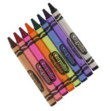 Crayola® 52-8908 Bulk Multi-Color Crayons - 3000 / CS
