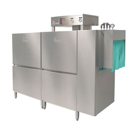 Meiko K-80ET Single Tank Sanitizing Electric Conveyor Dishwasher