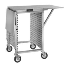 Cres Cor® 278-PT-1818-DS Mobile Work Stand with Drop Shelves
