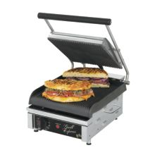 """Star® GX10IG Grill Express™ 10"""" Grooved Sandwich Grill"""