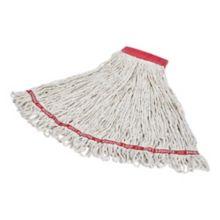 "Rubbermaid FGC15306WH00 Swinger Loop White Wet Mop w/ 5"" Headband"