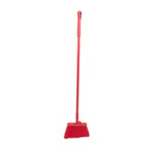 "Carlisle® 4108305 48"" Angle Broom with Red Plastic Bristles"