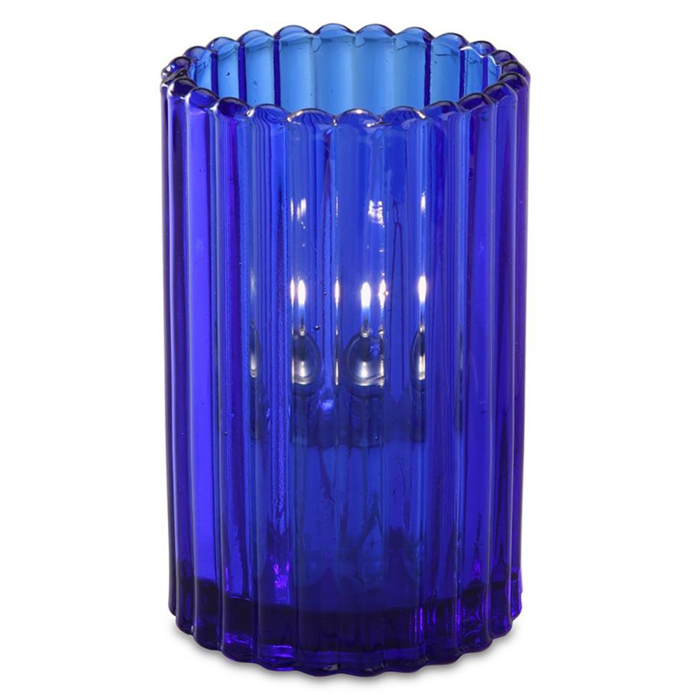 Sterno Products® 80210 Paragon Blue Glass Lamp