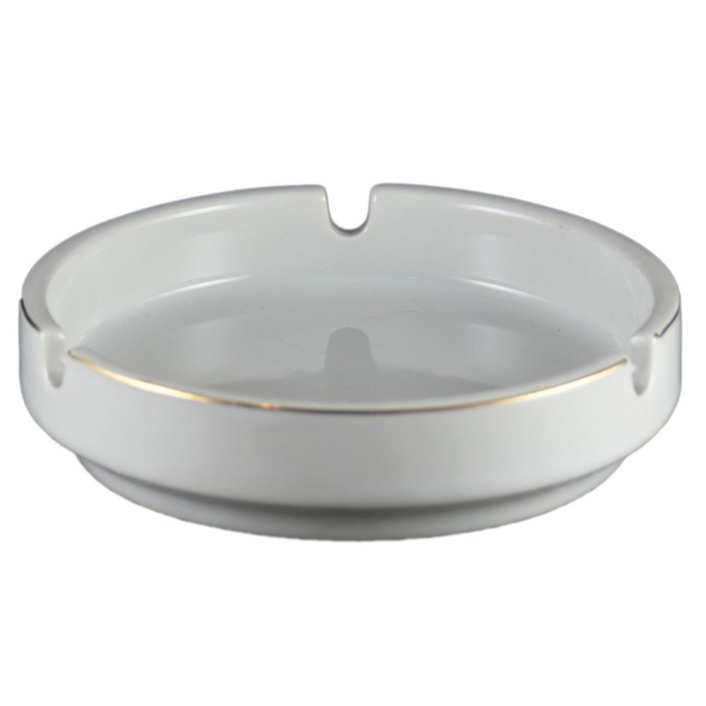 Vertex® China AST-3-G Argyle 3 Snuff Ashtray - 72 / CS