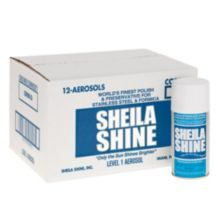 Sheila Shine 73440002 10 Oz. Stainless Steel Cleaner - 12 / CS