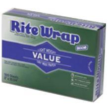 Bagcraft Packaging 11012 MarketWax® Dry Wax Deli Paper - 500 / BX
