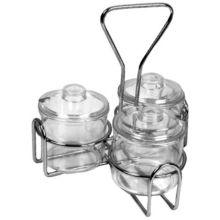Thunder Group SLCJH003 Condiment Jar Holder