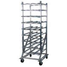 Win-Holt CR-162M Aluminum Mobile Can Dispensing Rack f/ #10 Cans