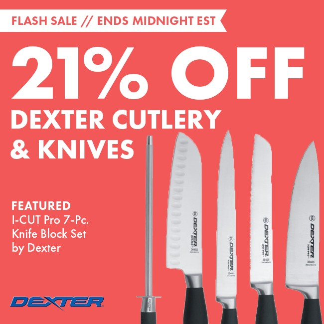 Save 21% On Dexter Cutlery & Knives