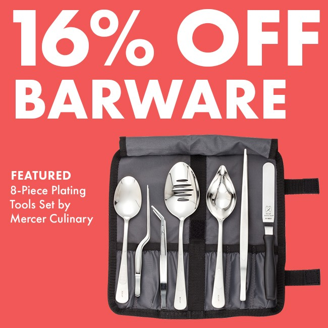 Save 16% On Barware