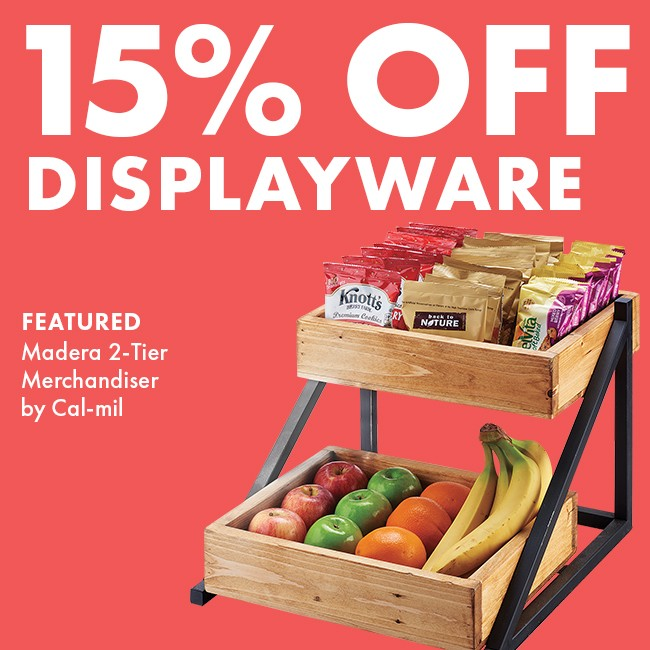 Save 15% On Displayware