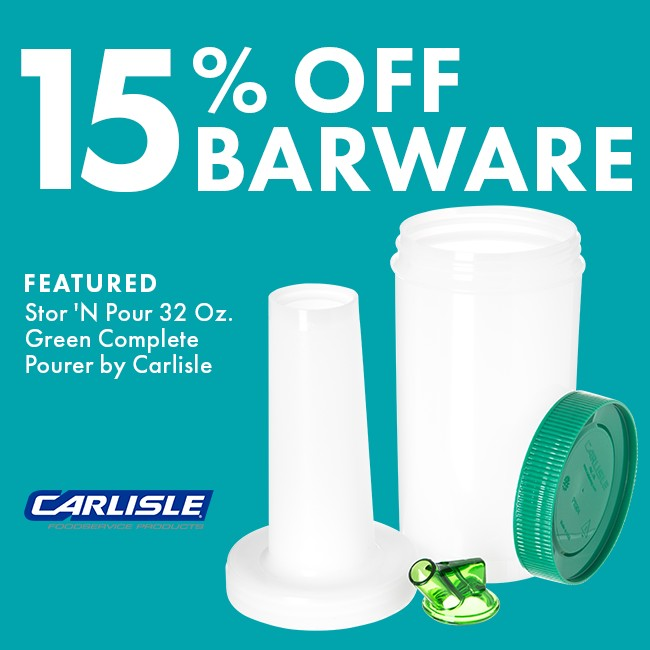 Save 15% On Barware