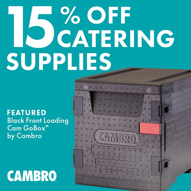 Save 15% On Catering Supplies