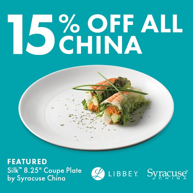 Save 15% On China