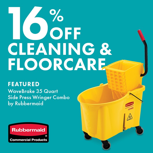 Save 16% On Cleaning & Floorcare
