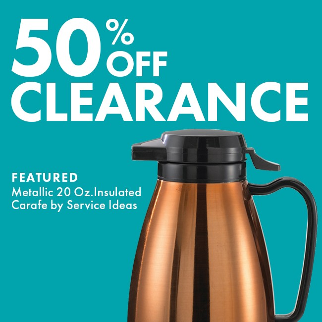 Save 50% On Clearance