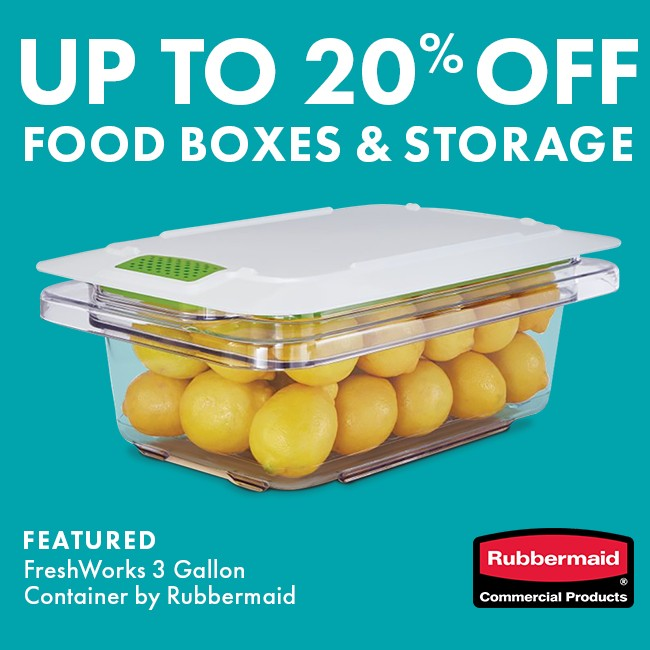 Save 20% On Food Boxes & Storage Containers