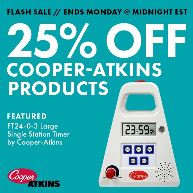 25% Off Cooper-Atkins