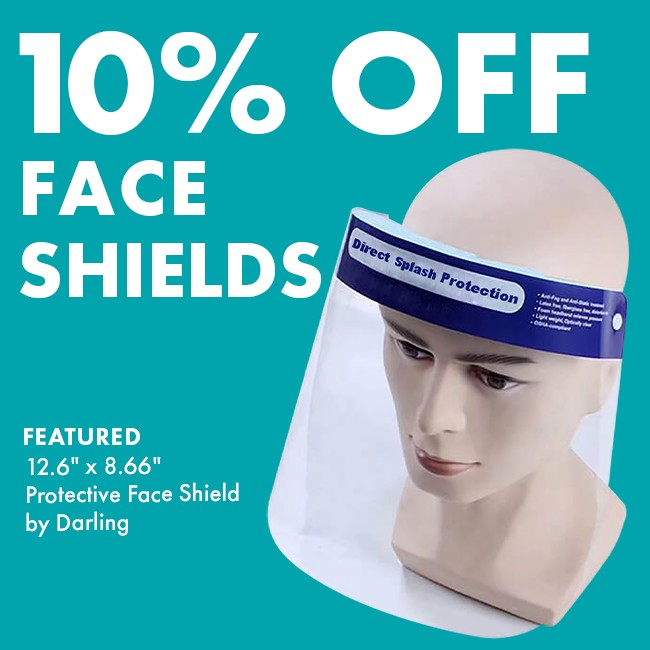10% Off Protective Face Shield