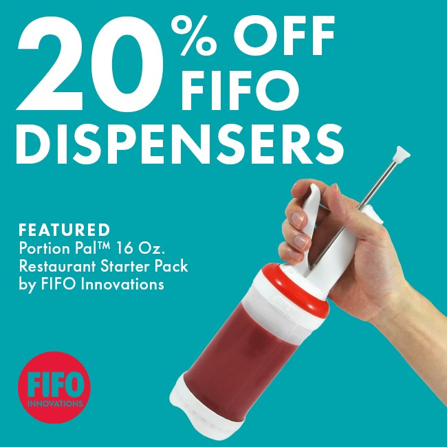 Save 20% On FIFO Dispensers