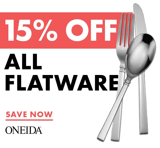 Save 15% On Flatware