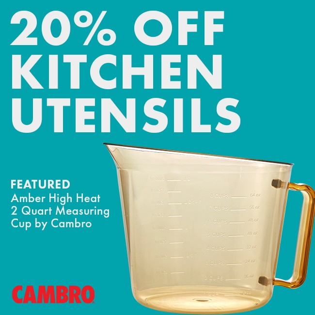 Save 20% On Kitchen Utensils