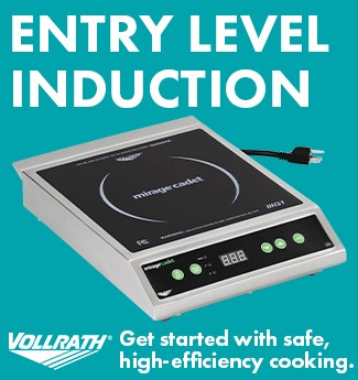 Vollrath 59300 120V Mirage Cadet Countertop Induction Range