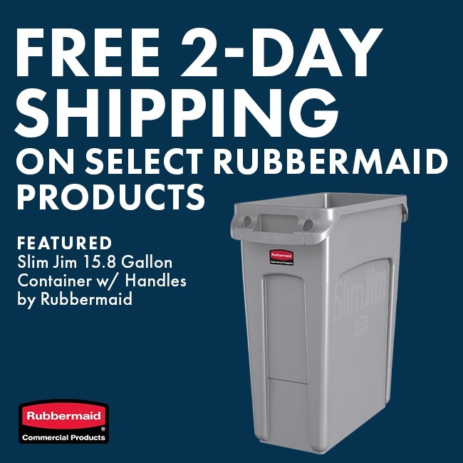 Free Shipping On Select Rubbermaid Products